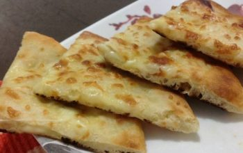 Oven Baked Cheese Naan Recipe