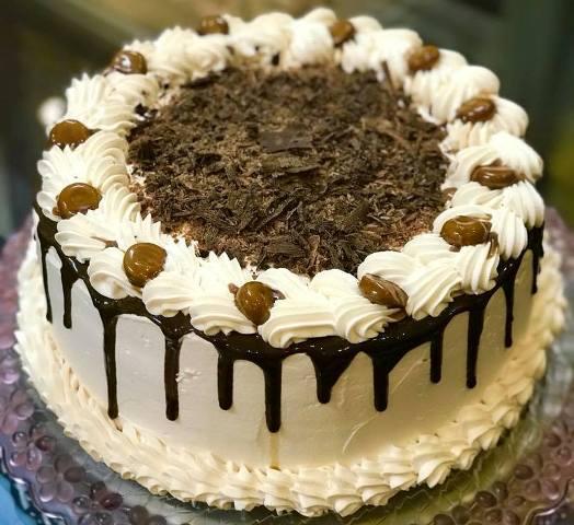 Coffee Caramel Cake Recipe