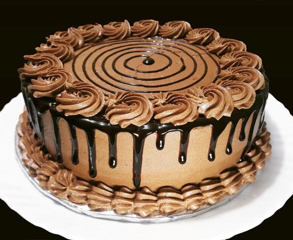Mocha Butter Cream Frosting Cake