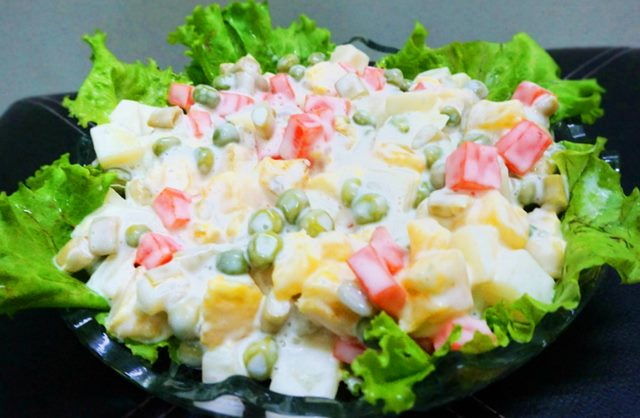 Russian Salad by Shireen Anwar