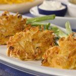 cheesy potato pancake recipe