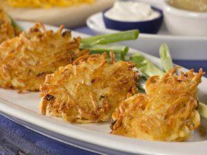 cheesy potato pancake recipe