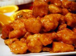 Panda orange chicken recipe