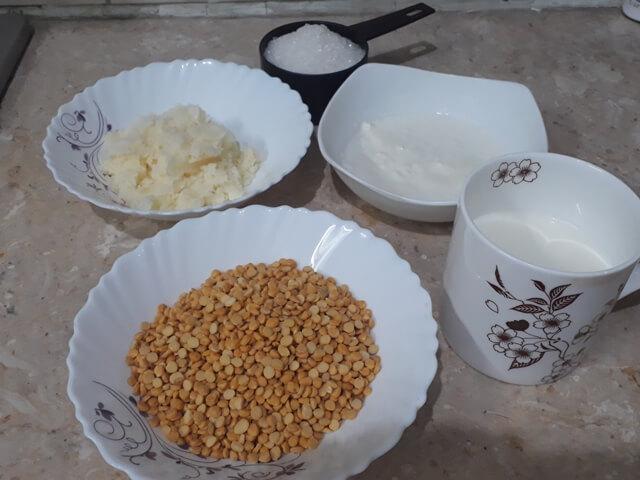 Chane ki Daal ka Halwa Ingredients