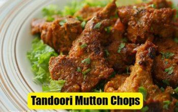 Tandoori Mutton Chops Recipe