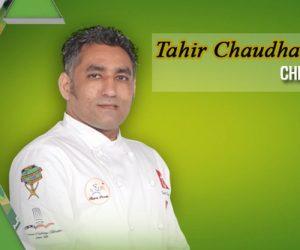 Chef Tahir Chaudhary