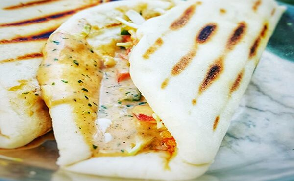 Chicken Cheese Shwarma