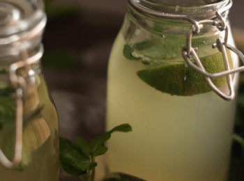 Honey Mint Lime Water