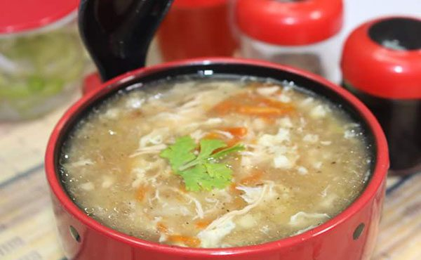 Hot and Sour Soup by Chef Mehboob